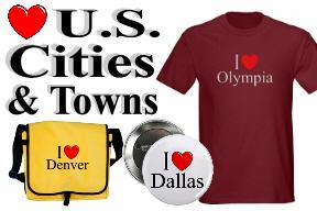 U.S. Cities & Towns