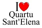 I Love (Heart) Quartu Sant'Elena, Italy