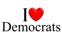 I Love (Heart) Democrats