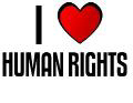 I LOVE HUMAN RIGHTS