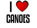 I LOVE CANOES