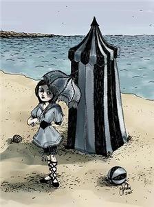Gothic Beach Beauty