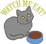 Cat Watch Me Eat
