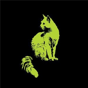 Green Cat Graphic