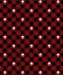 Red Skull Plaid