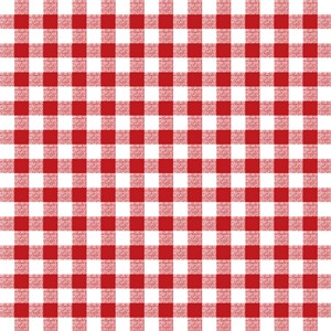 Red Gingham Pattern