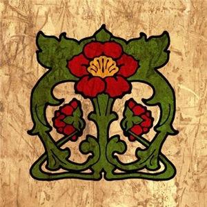 Art Nouveau Floral Pattern