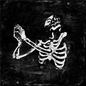 Praying Skeleton Graphic
