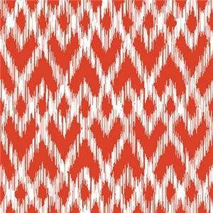 Ikat Pattern Red