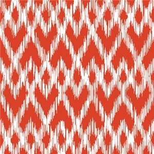 Ikat Pattern Red