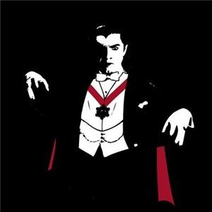Stylized Dracula Graphic