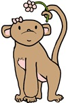 Girl Monkey T-shirts