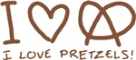 I Love Pretzels T-shirts