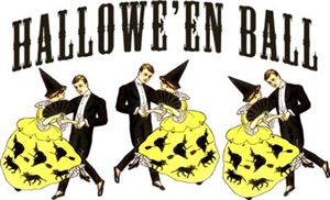 Vintage Halloween Ball