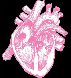 Human Heart Pink