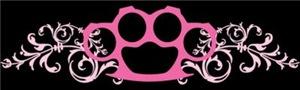 Pink Brass Knuckles