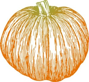 Pumpkin Line Art