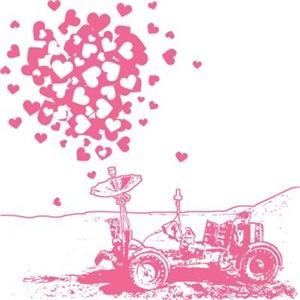 Pink Lunar Rover Of Love