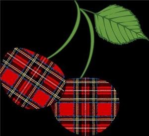 Punk Plaid Cherry