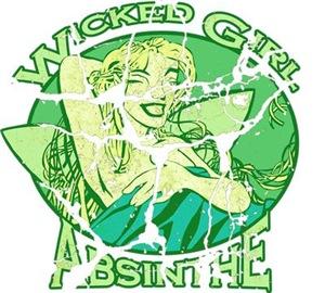 Vintage Wicked Girl Absinthe