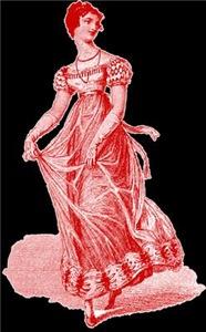 Regency Lady In Gown
