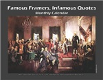 Famous Framers, Infamous Quotes Wall Calendars