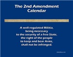 Second/2nd Amendment Wall Calendars