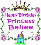 Happy Birthday Princess Bailee