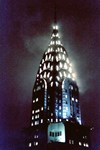 Chrysler Building: Night