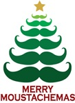 Moustachemas Christmas Tree