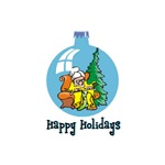 Stocking Knitter - Happy Holidays