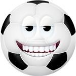 Soccer Ball 2 Smiley Face