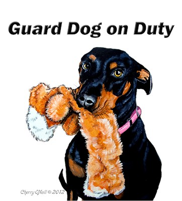 Guard Dog Doberman