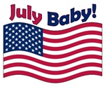 July Baby t-shirts and 4th of July Maternity