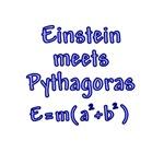 Einstein Pythagoras