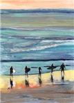 California Surfers by RD Riccoboni