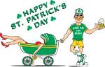 St. Patrick's Day Cartoon