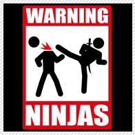 Warning: Ninjas