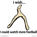 I wish I could watch more football