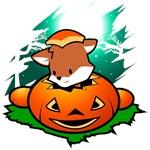 Halloween Foxy Pumpkin
