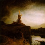 Rembrandt The Mill