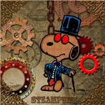 NEW! Steampunk Snoopy