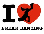 I love Break dance