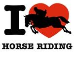 I love Horse Riding