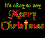 It's OK to say Merry Christmas!