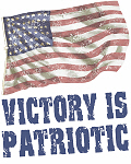 Victory is Patriotic - Weathered