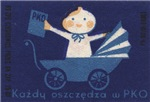 Polish Baby Matchbox Label