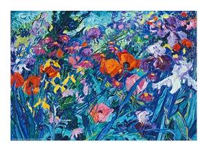 The Artist's Garden—Poppies