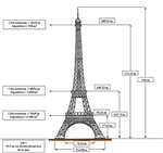 Eiffel Tower Schematic