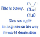 Give me a gift to help bunny